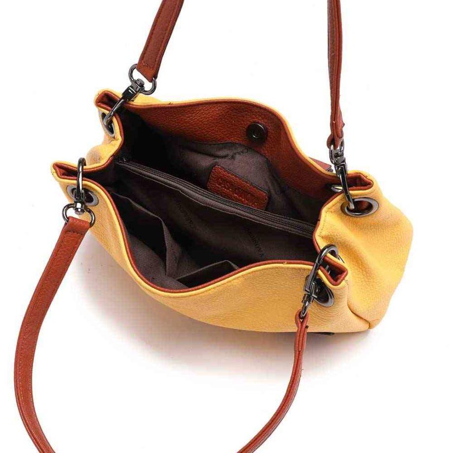 casadionva handtasche henkeltasche modern umhängetasche lotta a-material 40