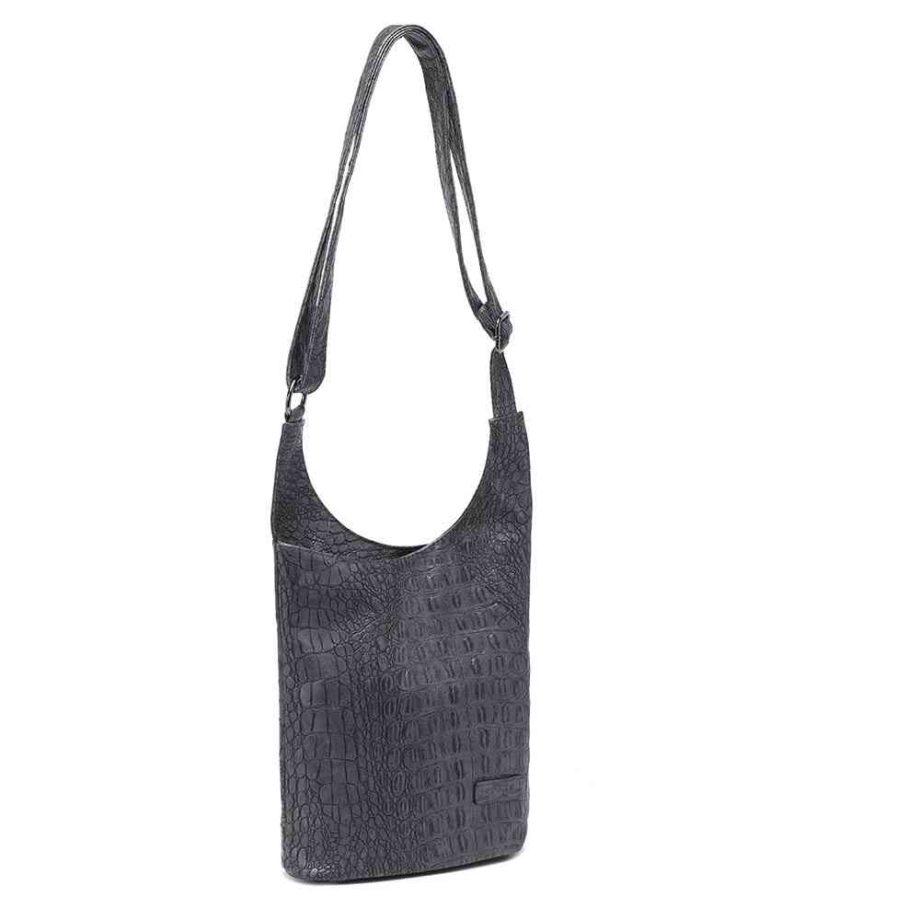 handtasche clara schultertasche umhängetasche kroko-optik modern casadionva kr-material 8