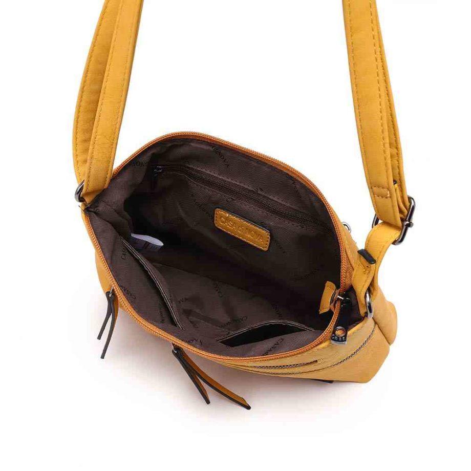 handtasche emely schultertasche umhängetasche modern casadionva g-material 10