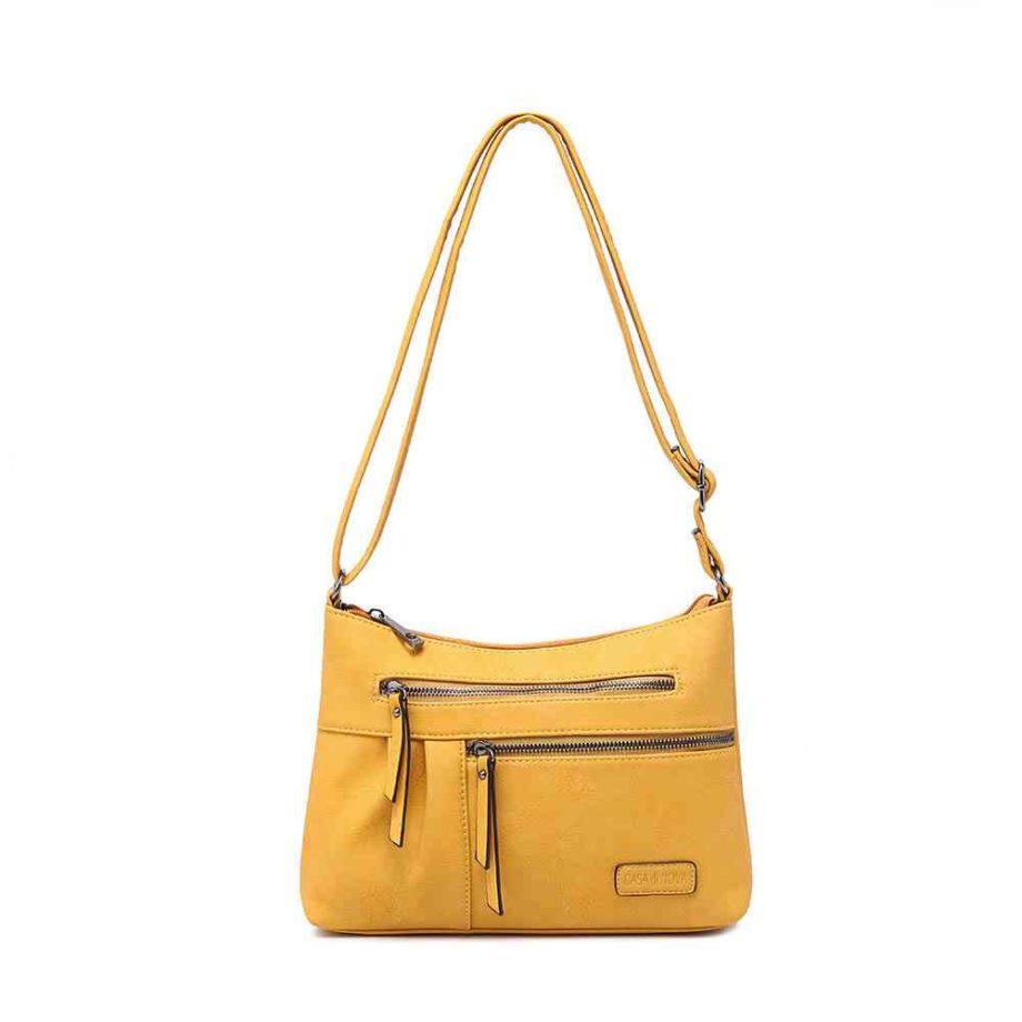 handtasche emely schultertasche umhängetasche modern casadionva g-material 14