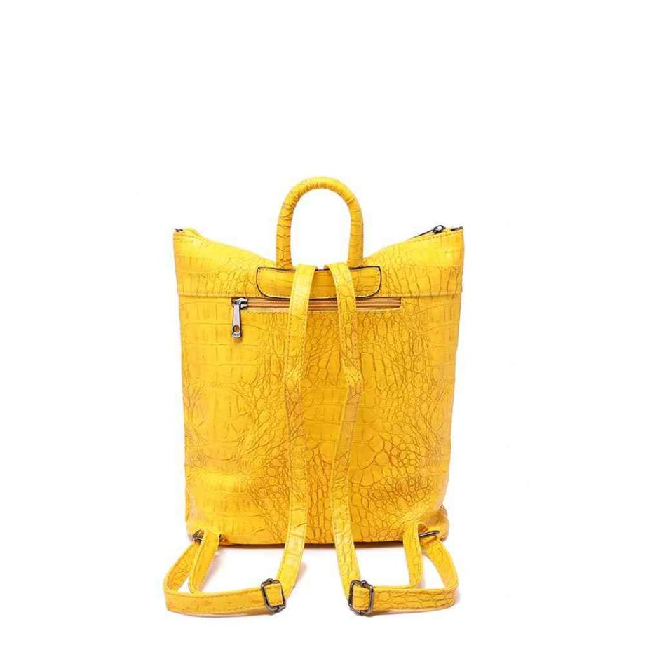 handtasche marta rucksack umhängetasche kroko-optik modern casadionva kr-material 12