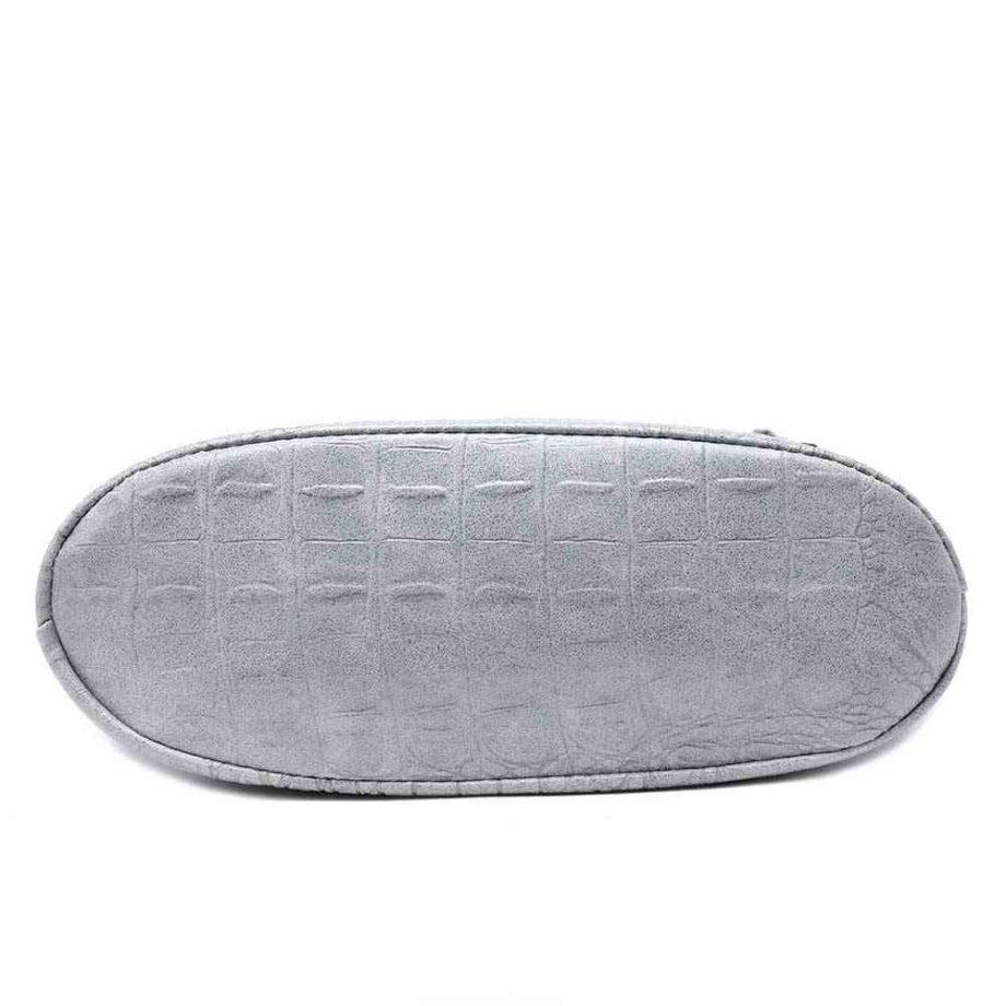 handtasche schultertasche umhängetasche kroko-optik linda modern casadionva kr-material 21