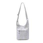 handtasche schultertasche umhängetasche kroko-optik linda modern casadionva kr-material 22