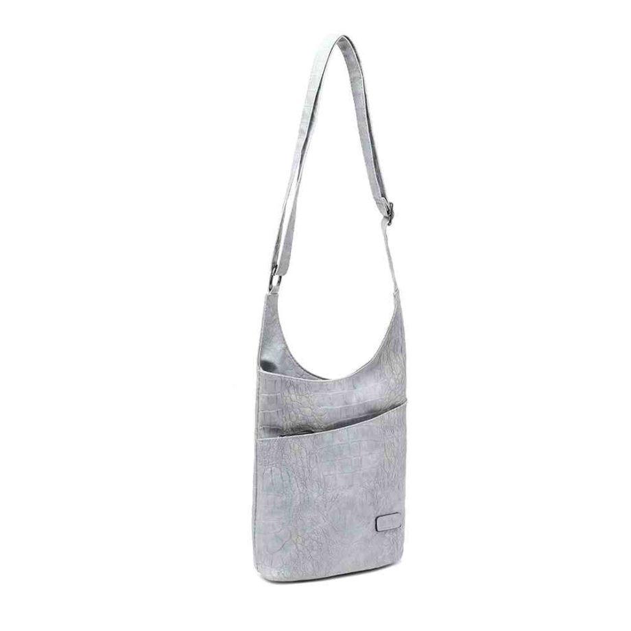 handtasche schultertasche umhängetasche kroko-optik linda modern casadionva kr-material 23