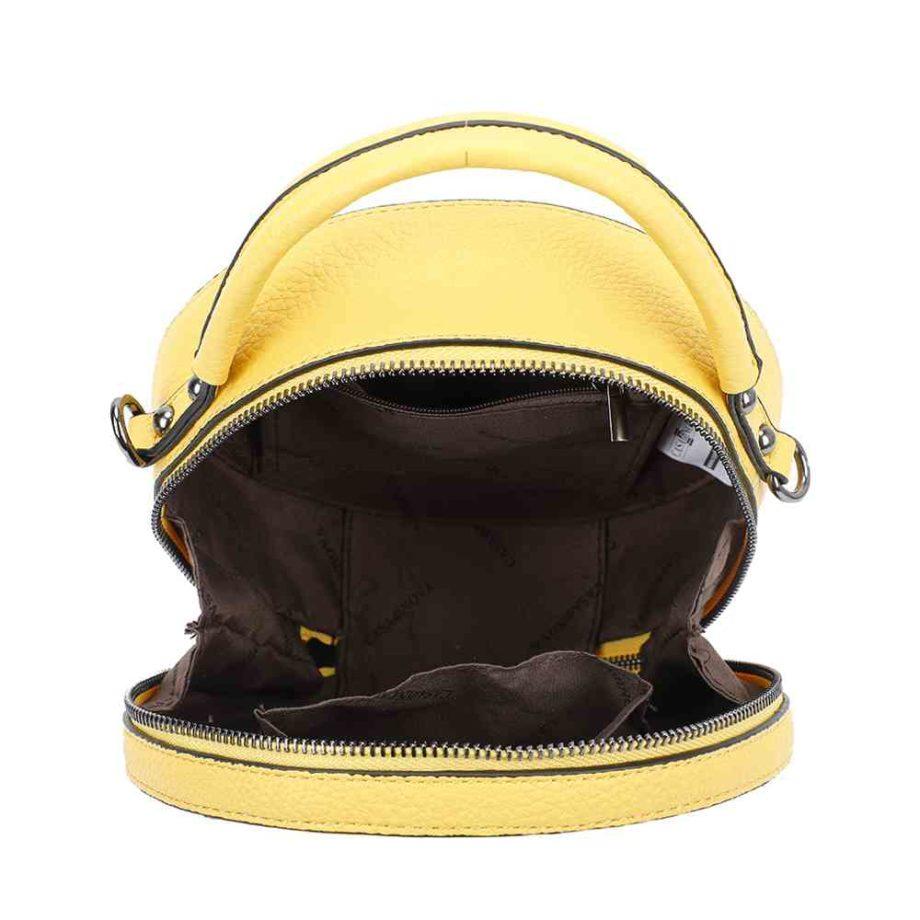 casadionva runde handtasche veganes leder umhängetasche modern jana a-material 25